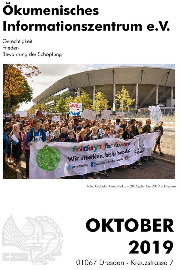 Monatsprogramm ÖIZ Oktober 2019