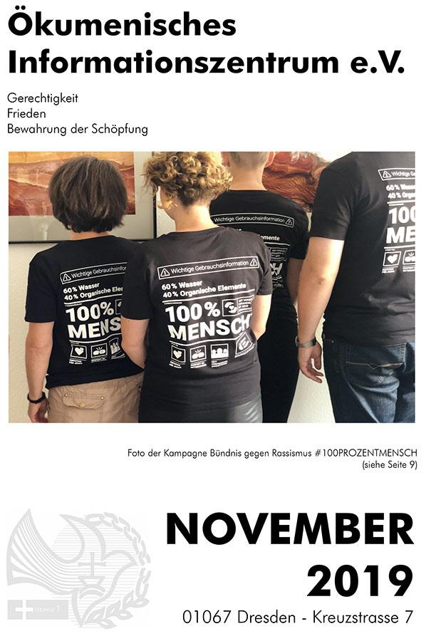 Monatsprogramm ÖIZ November 2019