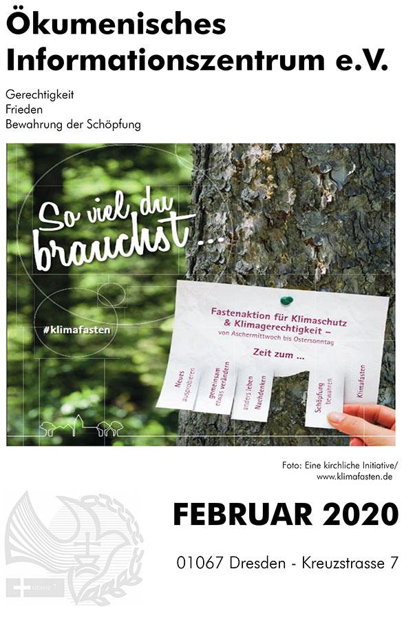 Monatsprogramm ÖIZ Februar 2020